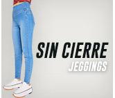 SIN CIERRE JEGGINGS hites.com