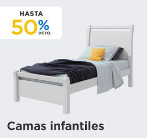 CAMAS INFANTILES HASTA 50% DCTO en hites.com