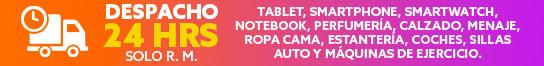 DESPACHO 24 HRS SÓLO RM Tablet, Smartphone, Smartwatch, Notebooks