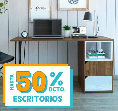 ESCRITORIOS HASTA 50% DCTO