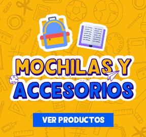 Mochilas y accesorios
