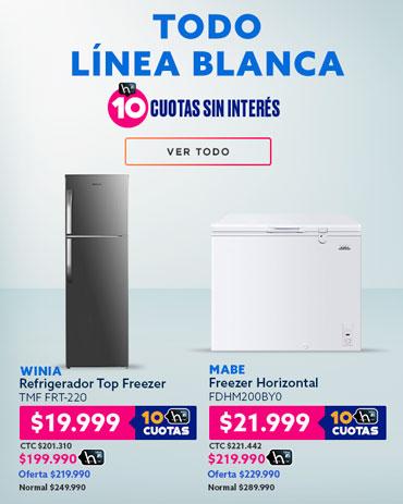 LÍNEA BLANCA RENUÉVALOS AL MEJOR PRECIO en hites.com