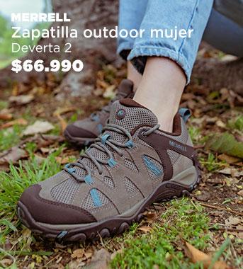 Zapatilla Outdoor  Mujer Deverta 2