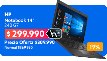 Notebook 14' 240 G7 en hites.com