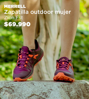 Zapatilla Outdoor  Mujer Zion Fst