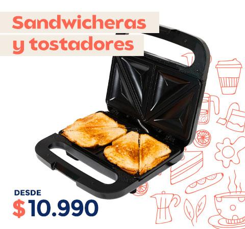 """""""SANDWICHERAS  Y TOSTADORES"""""""