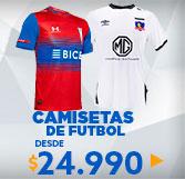 camisetas futbol en hites.com