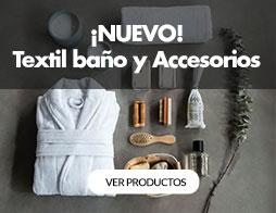 textil baño y accesorios