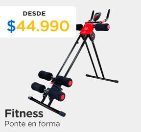 FITNESS PONTE EN FORMA DESDE $44.990