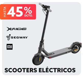 SCOOTER ELÉCTRICOS Hasta 45% dcto.