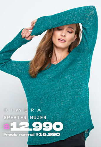 SWEATER MUJER