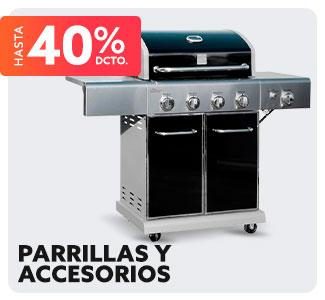 PARRILLAS Y ACCESORIOS HASTA 40% DCTO en hites.com