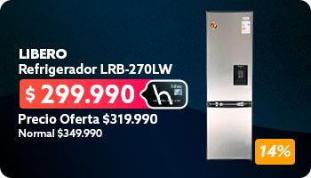Refrigerador LRB-270LW