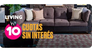 LIVING 10 CUOTAS SIN INTERÉS en hites.com