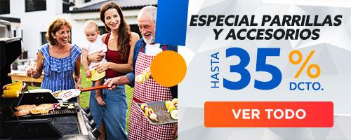 Especial Parrillas y Accesorios HASTA 35% DCTO