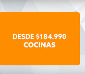 COCINAS DESDE 184.990 hites.com