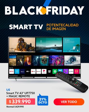 Especial TV en blackfriday de hites.com