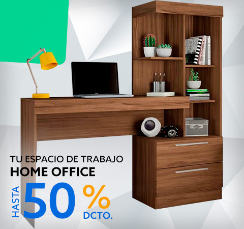 Home Office Hasta 50% dcto