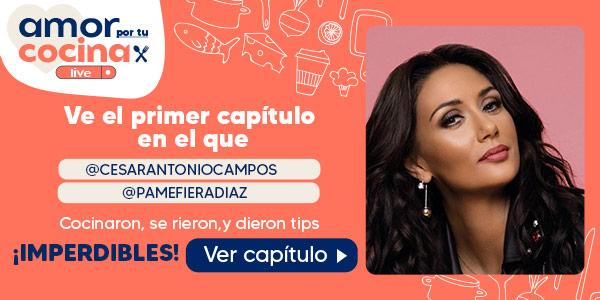 VE EL PRIMER CAPITULO EN EL QUE @CESARANTONIOCAMPOS Y @PAMEFIERADIAZ COCINARON, SE RIERON,  Y DIERON TIPS ¡IMPERDIBLES!