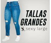 JEANS TALLAS GRANDES SEXY LARGE hites.com