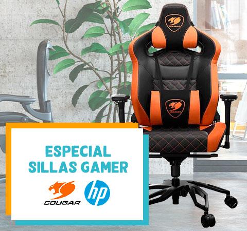 ESPECIAL SILLAS GAMER COUGAR-HP