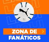 ZONA DE FANATICOS en hites.com