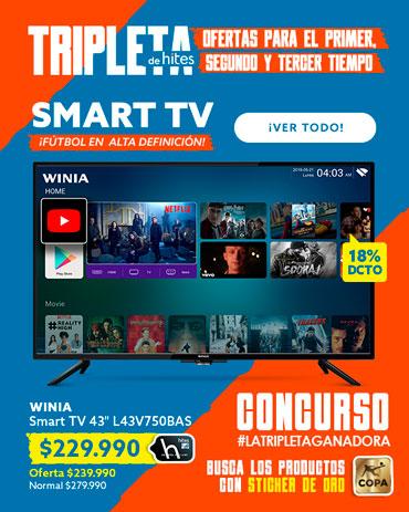 SMART TV ¡FÚTBOL EN ALTA DEFINICIÓN! EN HITES.COM