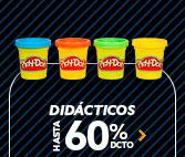 Didacticos HASTA 60% DCTO | Lo mejor esta en hites.com
