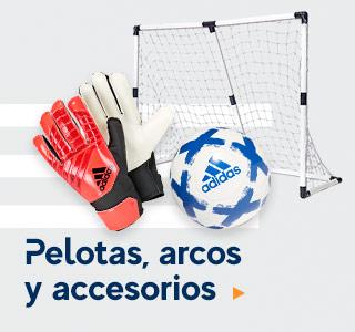 PELOTAS, ARCOS  Y ACCESORIOS