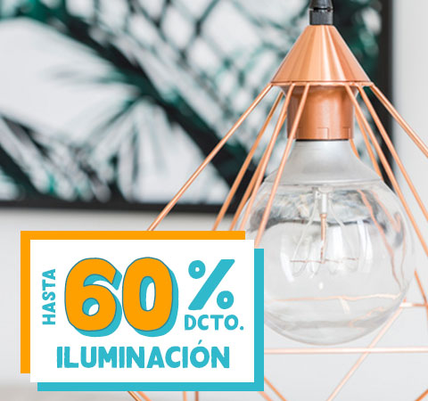 Iluminación HASTA 60% DCTO