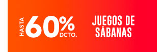 FRAZADAS Y MANTAS HASTA 60% DCTO