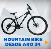 MOUNTAIN BIKE DESDE ARO 24