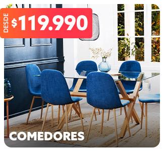 COMEDORES DESDE 119.990 en hites.com