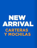 NEW ARRIVALS: CARTERAS Y MOCHILAS hites.com