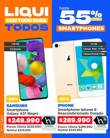 Especial liqui smartphones en hites.com