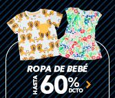 ROPA BEBE HASTA 60% DCTO