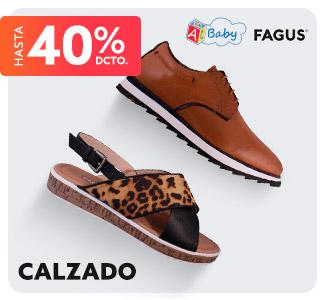 FAGUS CALZADO Hasta 40% dcto.