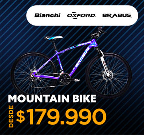 MOUNTAIN BIKE DESDE $179.990