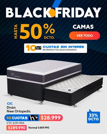 CAMAS Hasta 50% dcto Blackfriday en hites.com