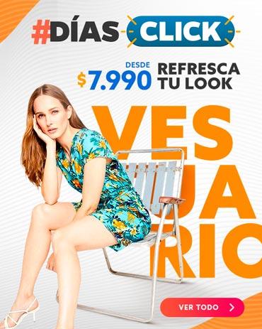 REFRESCA TU LOOK DESDE $7.990 diasclick en hites.com