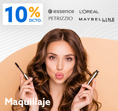 MAQUILLAJE 10% dcto