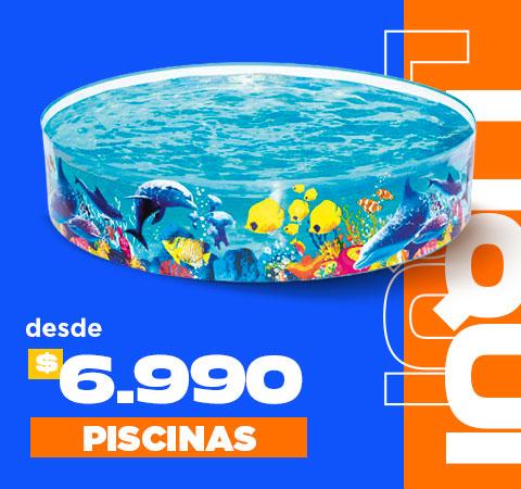 PISCINAS DESDE $6.990