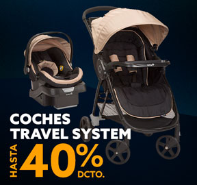 COCHES TRAVEL SYSTEM HASTA 50% DCTO