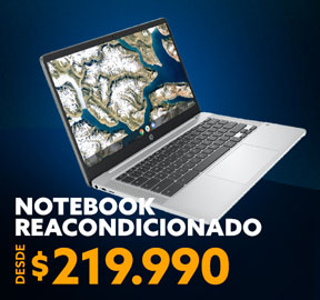NOTEBOOK  REACONDICIONADO DESDE 229.990