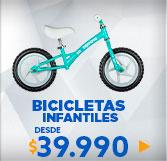 bicicletas niño y niña en hites.com