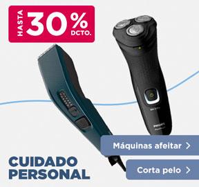 CUIDADO PERSONAL MÁQUINAS AFEITAR, CORTA PELO HASTA 40% DCTO