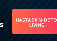 LIVING Hasta 55% dcto hites.com