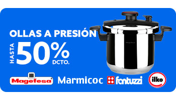 OLLAS A PRESIÓN HASTA 50% DCTO en hites.com