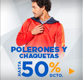 polerones y chaquetas deportivas hombre en hites.com