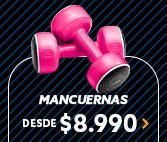 MANCUERNAS DESDE $8.990